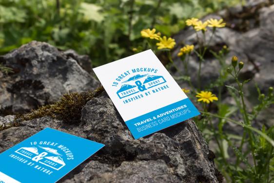 10 business card mockups travel set vol 2 nuoka creative studio reheart Choice Image